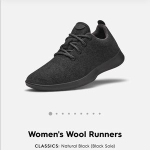 Allbirds black runners